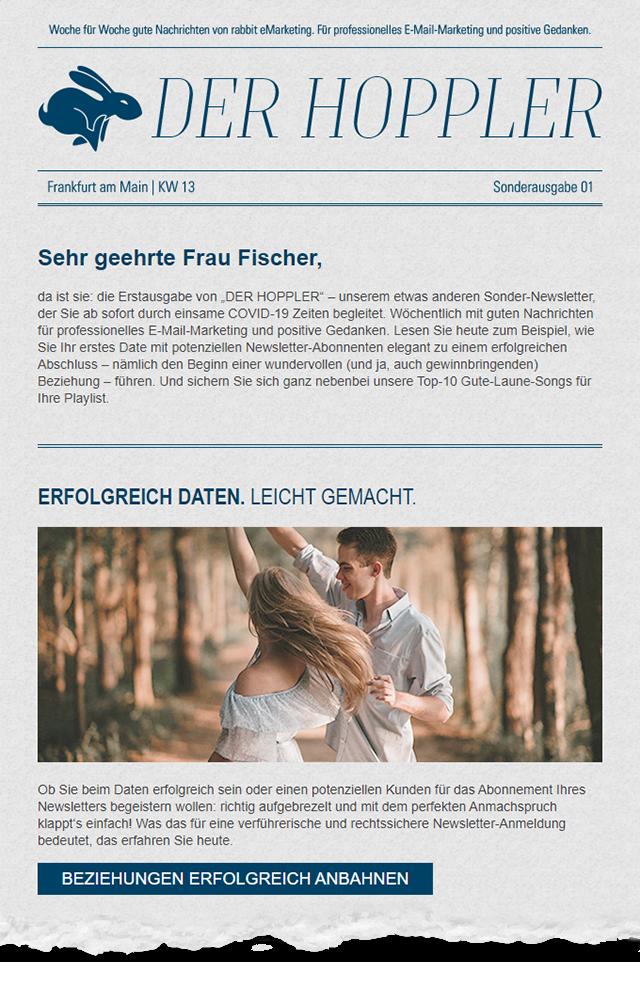"""""""Der Hoppler"""" - Ausgabe 01"""